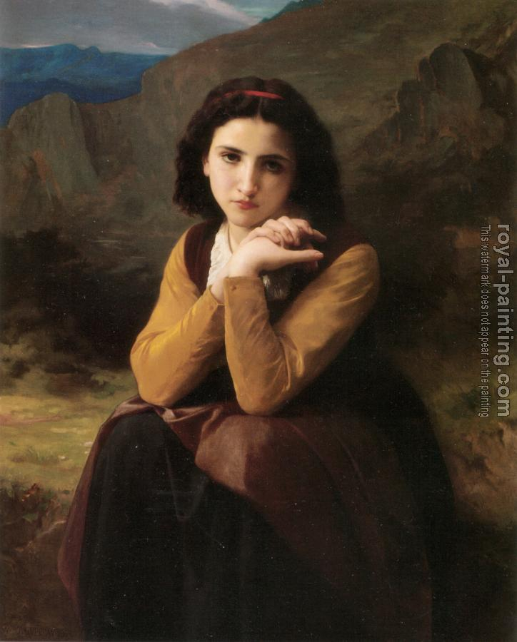 William-Adolphe Bouguereau : Mignon