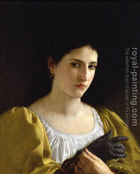 William-Adolphe Bouguereau : Lady with Glove