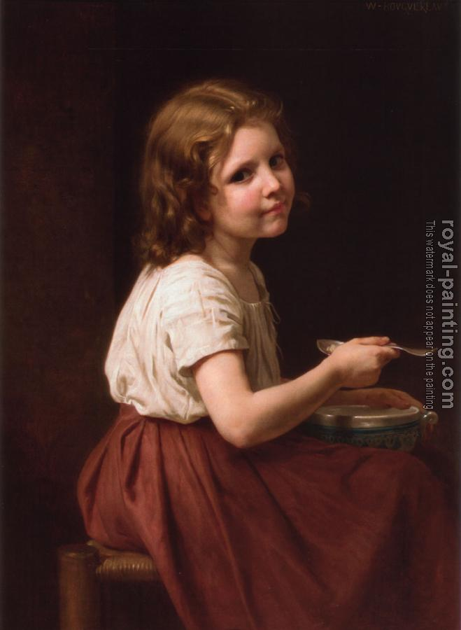 William-Adolphe Bouguereau : La soupe, Soup
