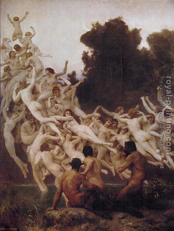 William-Adolphe Bouguereau : Les Oreades