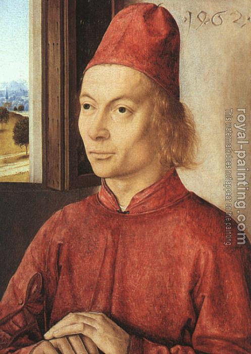 Dieric Bouts : Portrait of a Man