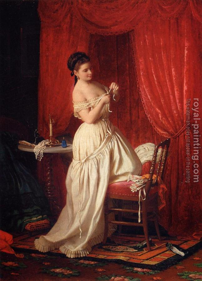 Johann Georg Meyer Von Bremen : In the Boudoir
