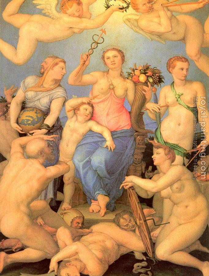 Agnolo Bronzino : Allegory of Happiness