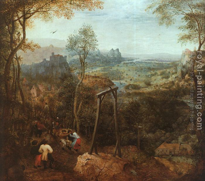 Pieter The Elder Bruegel : The Magpie on the Gallows