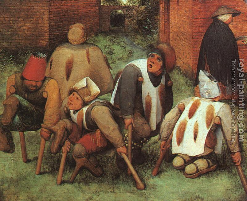 Pieter The Elder Bruegel : The Beggars