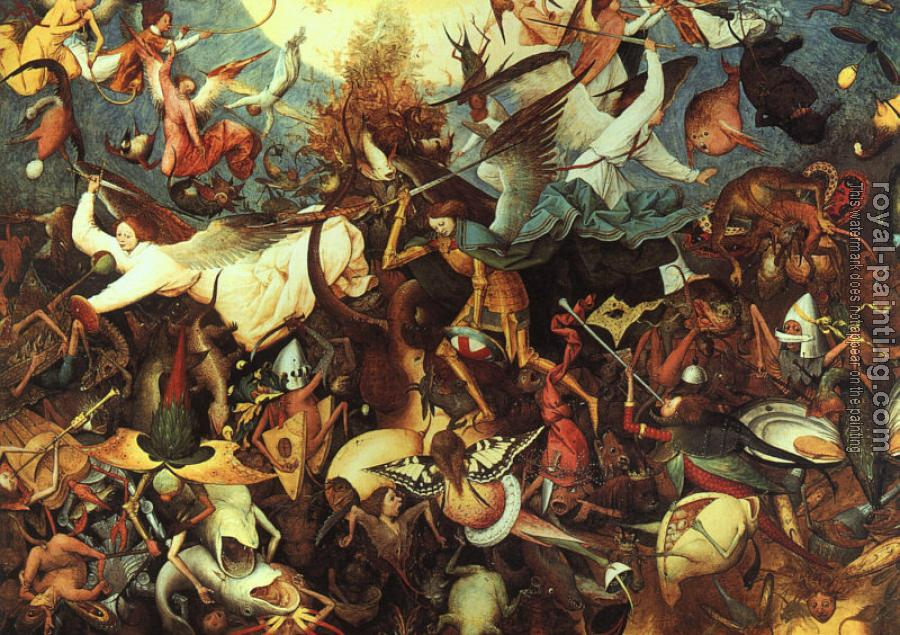 Pieter The Elder Bruegel : The Fall of the Rebel Angels