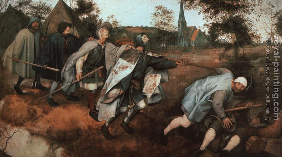 Pieter The Elder Bruegel : The Parable of the Blind Leading the Blind