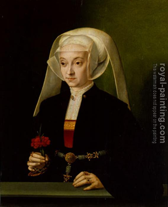 Barthel Bruyn : Portrait of a Young Woman