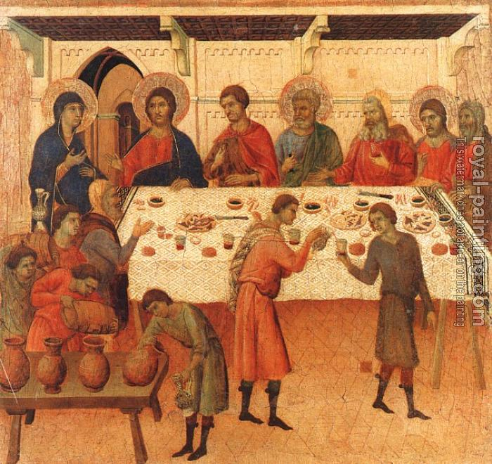 Duccio Di Buoninsegna : Wedding at Cana