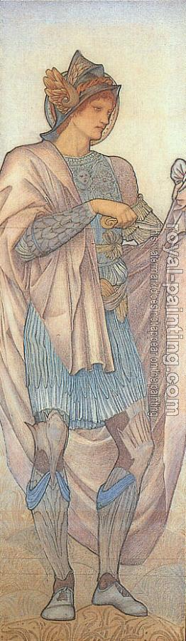 Sir Edward Coley Burne-Jones : St. Martin, design for stained glass