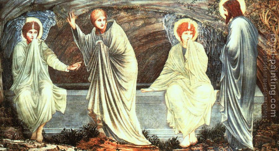 Sir Edward Coley Burne-Jones : The Morning of the Resurrection