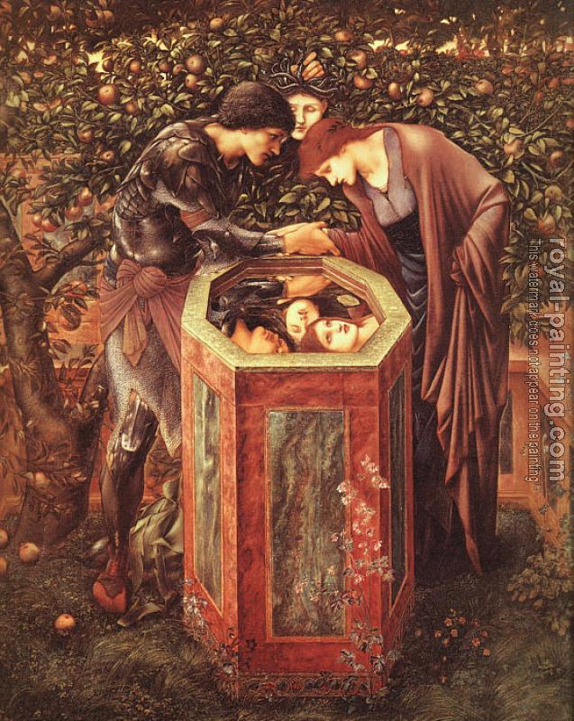 Sir Edward Coley Burne-Jones : The Baleful Head