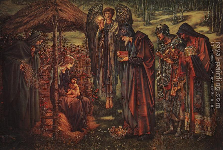 Sir Edward Coley Burne-Jones : The Star of Bethlehem