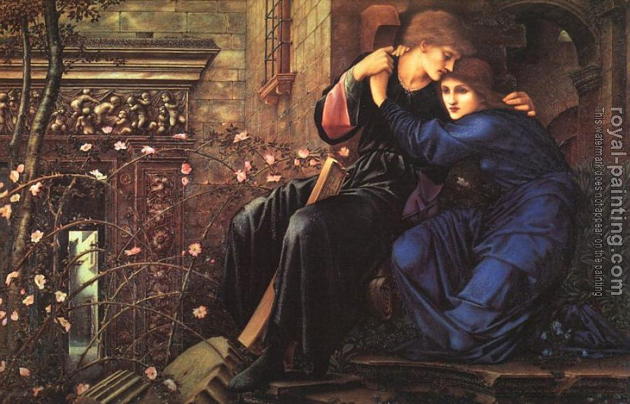 Sir Edward Coley Burne-Jones : Love Among the Ruins