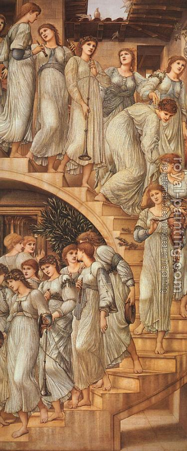 Sir Edward Coley Burne-Jones : The Golden Stairs