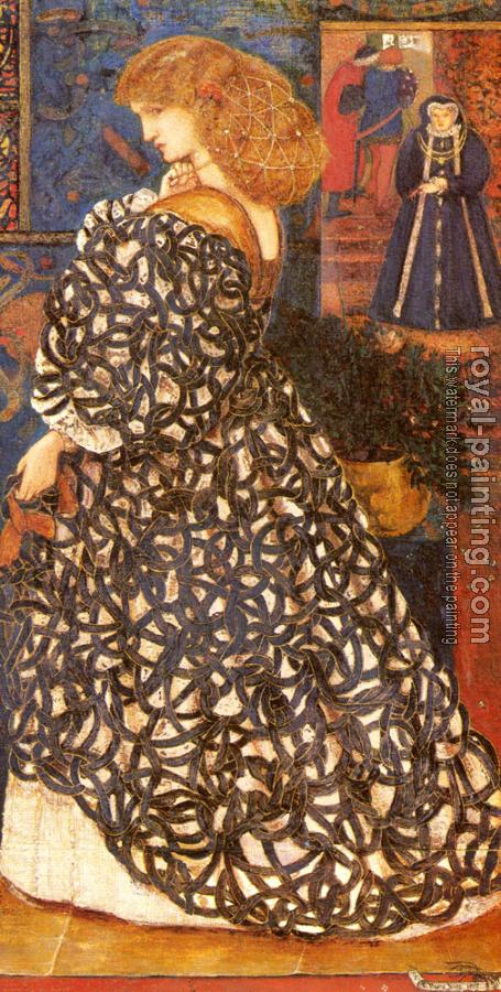 Sir Edward Coley Burne-Jones : Sidonia Von Bork