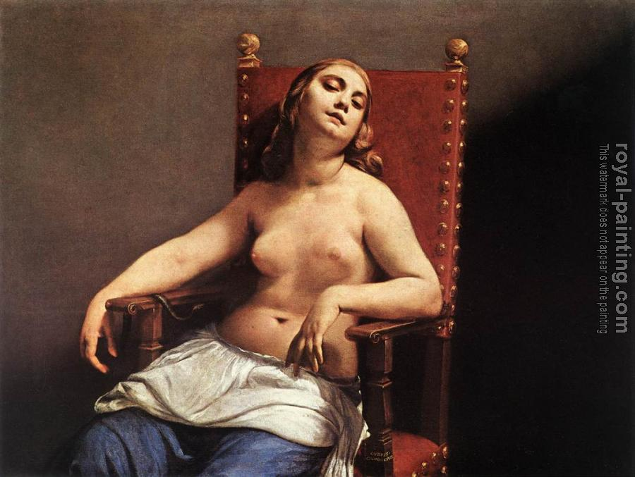 Guido Cagnacci : The Death of Cleopatra