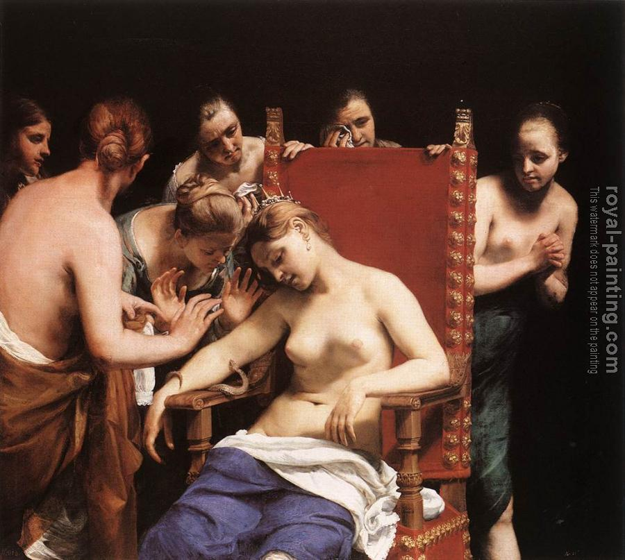 Guido Cagnacci : The Death of Cleopatra II