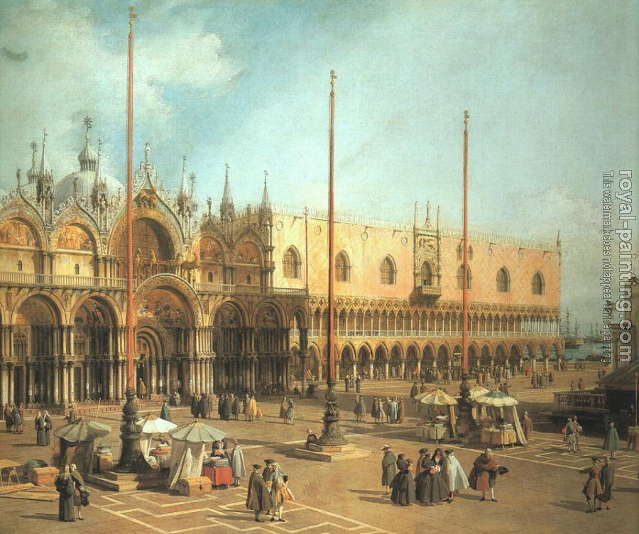 Canaletto : Piazza San Marco, Looking Southeast
