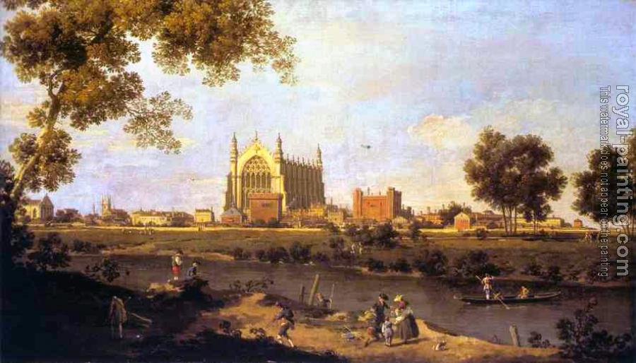 Canaletto : Eton College Chapel