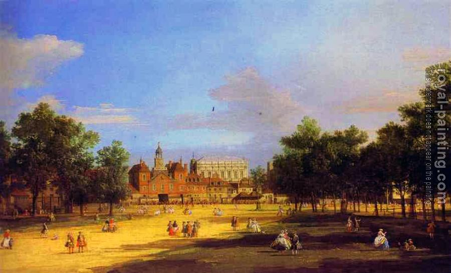 Canaletto : London, The Old Horse Guards and Banqueting Hall
