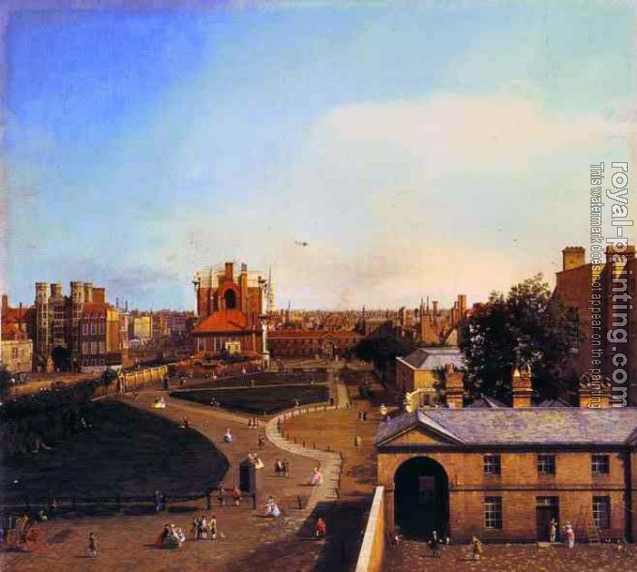 Canaletto : London, Whitehall and the Privy Garden