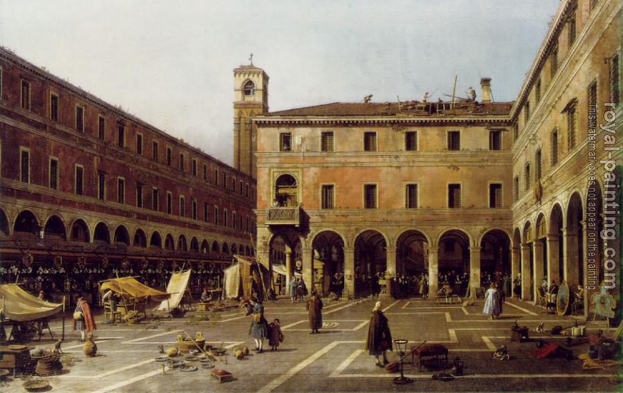 Canaletto : The Campo di Rialto