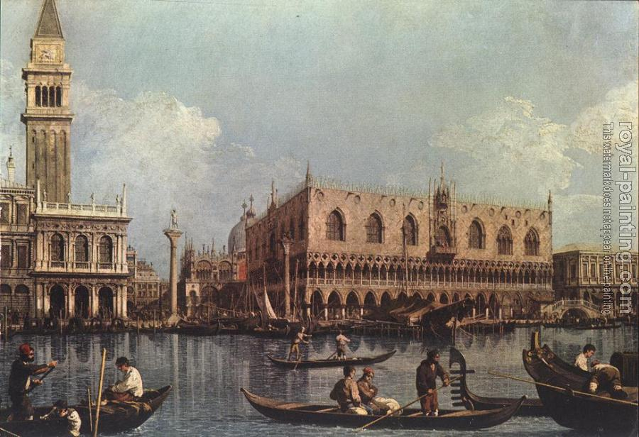 Canaletto : View of the Bacino di San Marco, St Mark's Basin