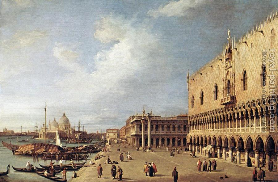 Canaletto : View of the Ducal Palace