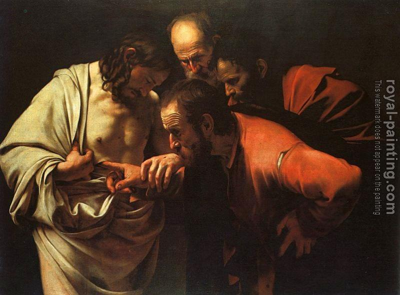 Caravaggio : The Doubting of St.