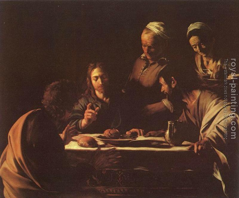 Caravaggio : Supper in Emmaus