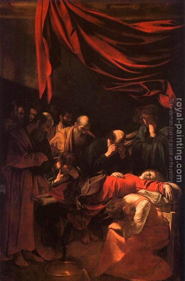 Caravaggio : The Death of the Virgin