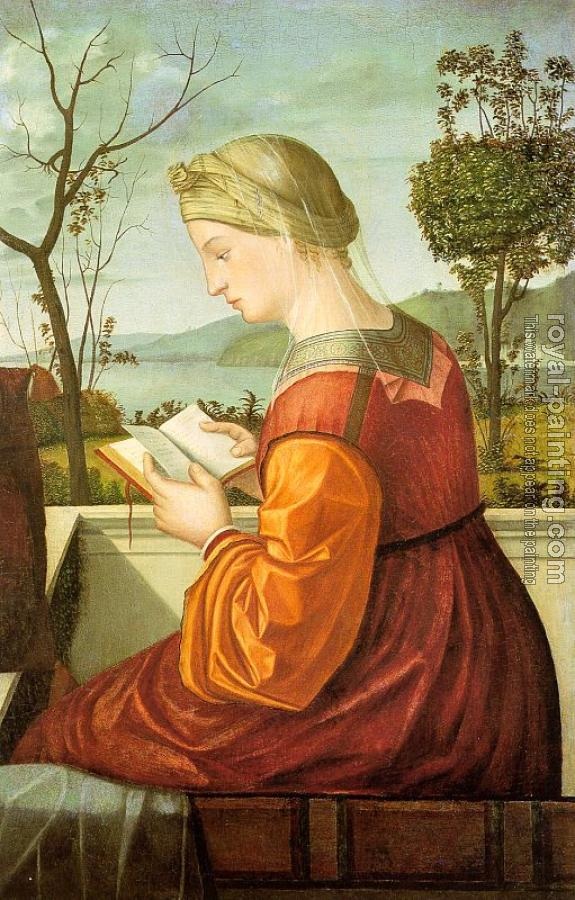 Carpaccio : The Virgin Reading, possibly a fragment of a much larger work