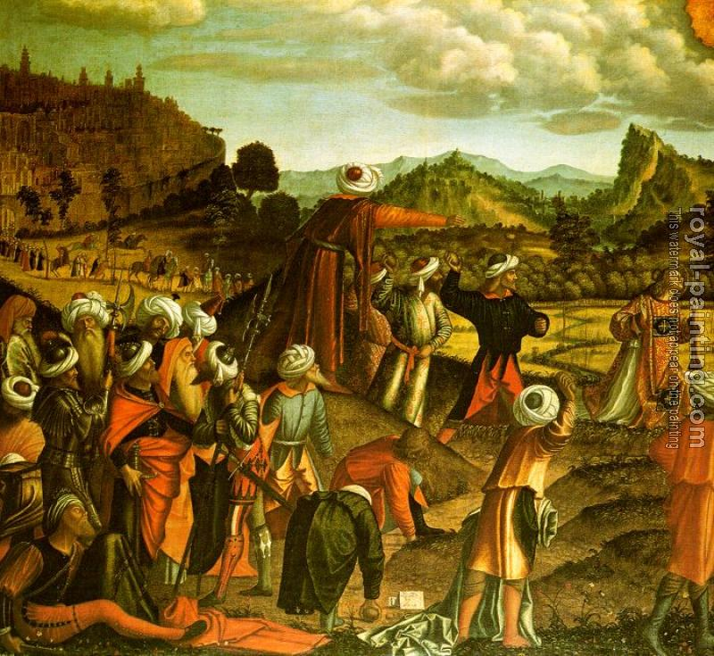 Carpaccio : The Stoning of Saint Stephen