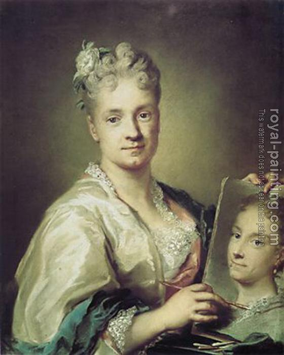 Rosalba Carriera : self-portrait