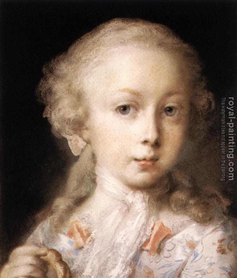 Rosalba Carriera : Young Lady of the Leblond Family