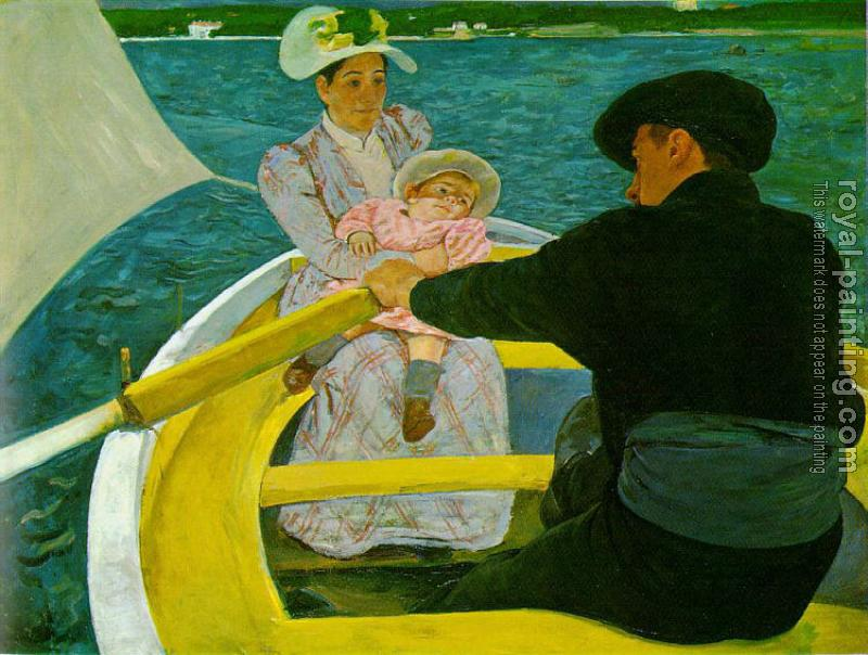 Mary Cassatt : The Boating Party