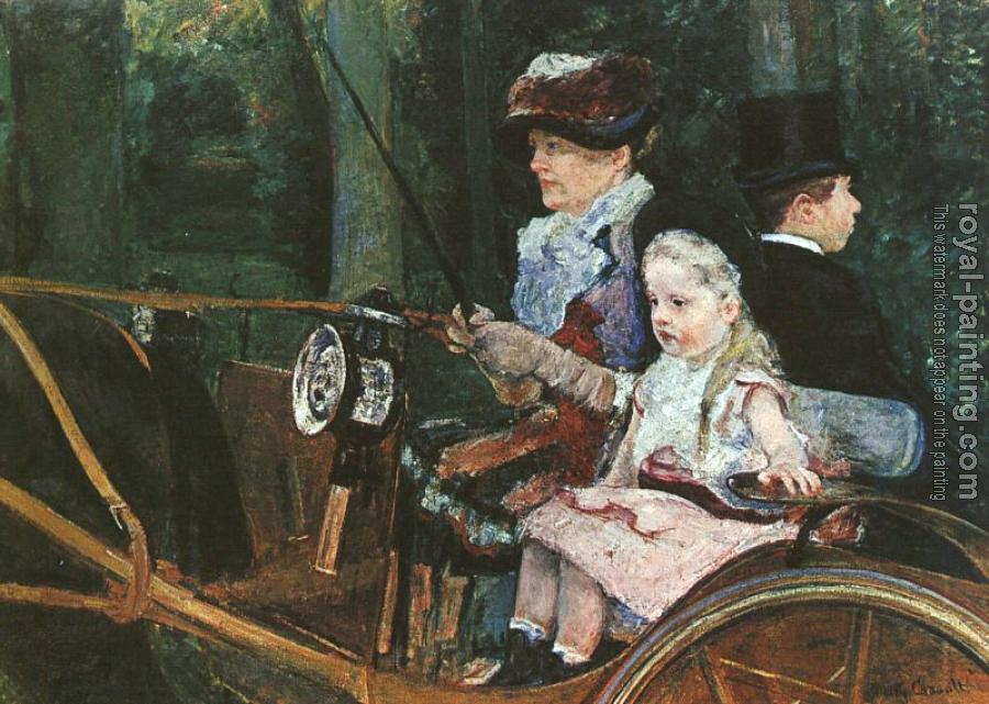 Mary Cassatt : Woman and Child Driving