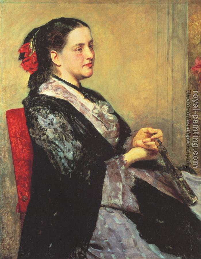 Mary Cassatt : Portrait of a Lady of Seville