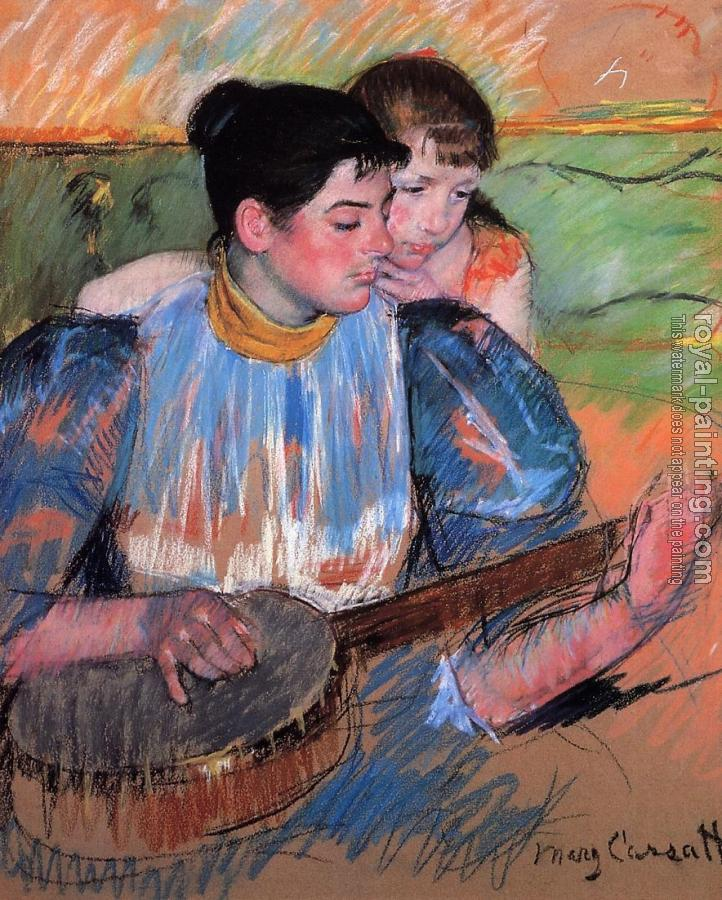 Mary Cassatt : The Banjo Lesson