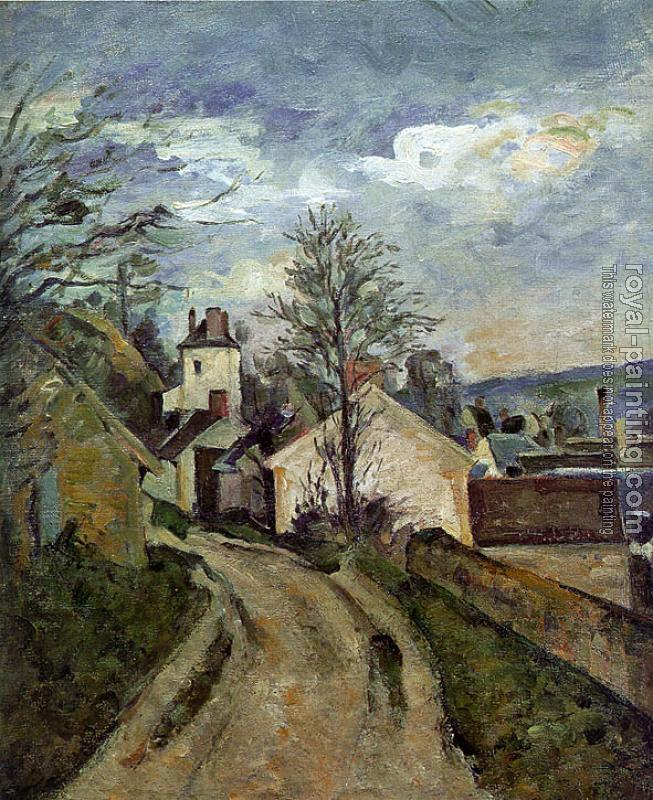 Paul Cezanne : The House of Dr. Gachet in Auvers