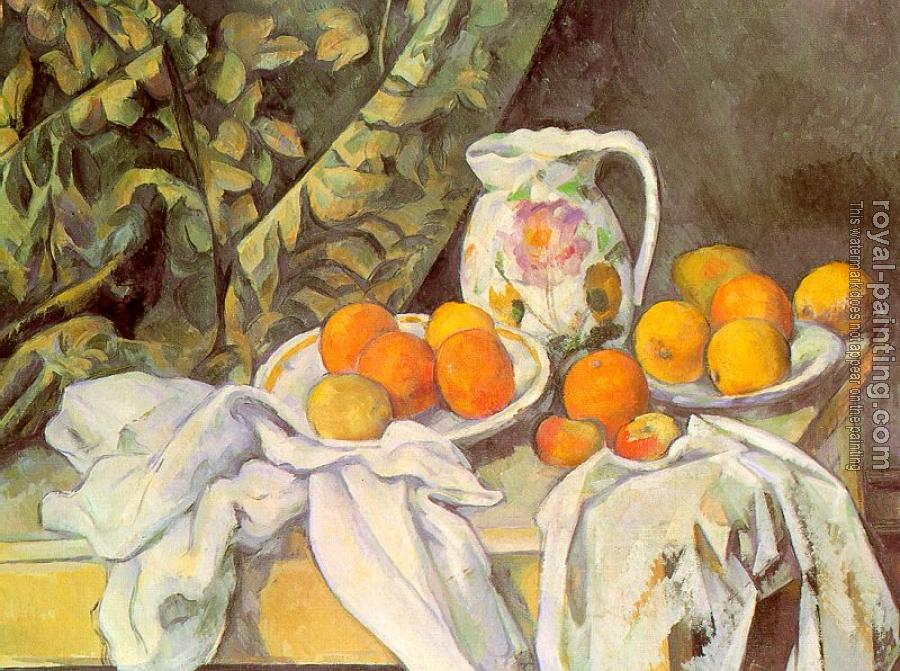 Paul Cezanne : Still Life with Drapery