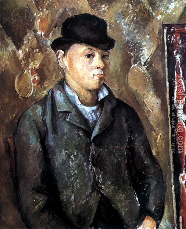 Paul Cezanne : Portrait of his son Paul Cezanne