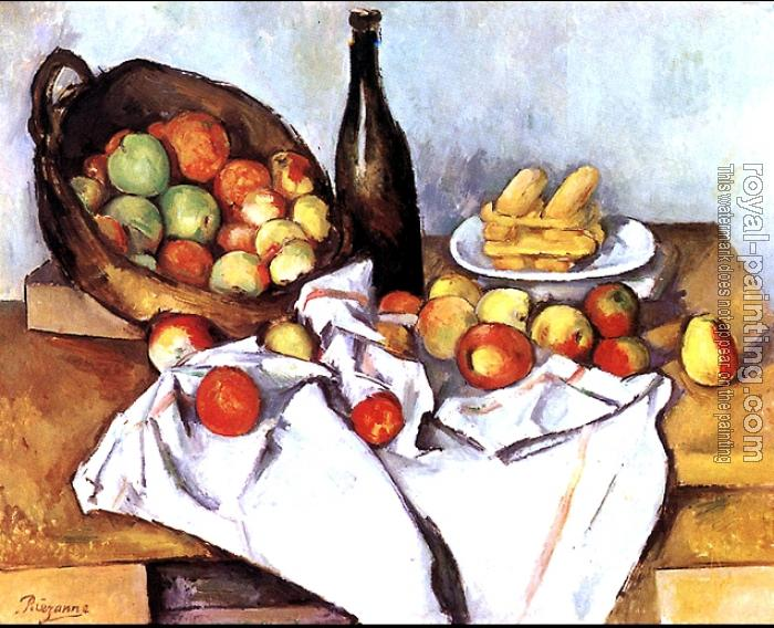Paul Cezanne : The Basket of Apples
