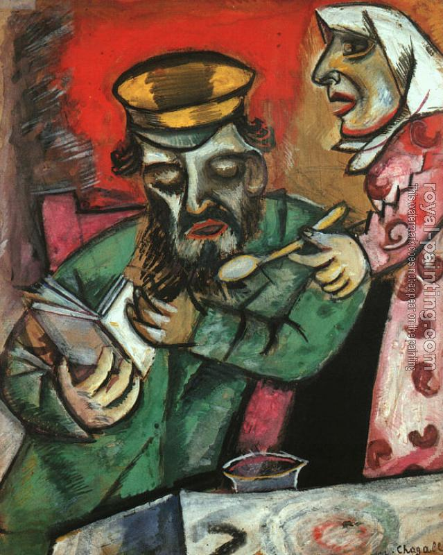Marc Chagall : The Spoonful of Milk