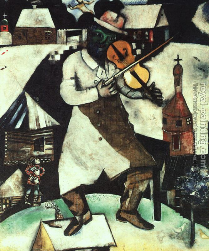 Marc Chagall : The Fiddler