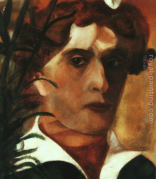 Marc Chagall : Self-Portrait