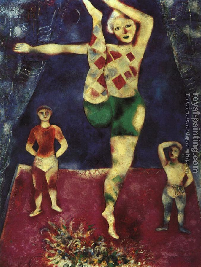 Marc Chagall : The Three Acrobats