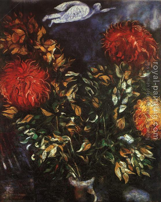 Marc Chagall : Chrysanthemums