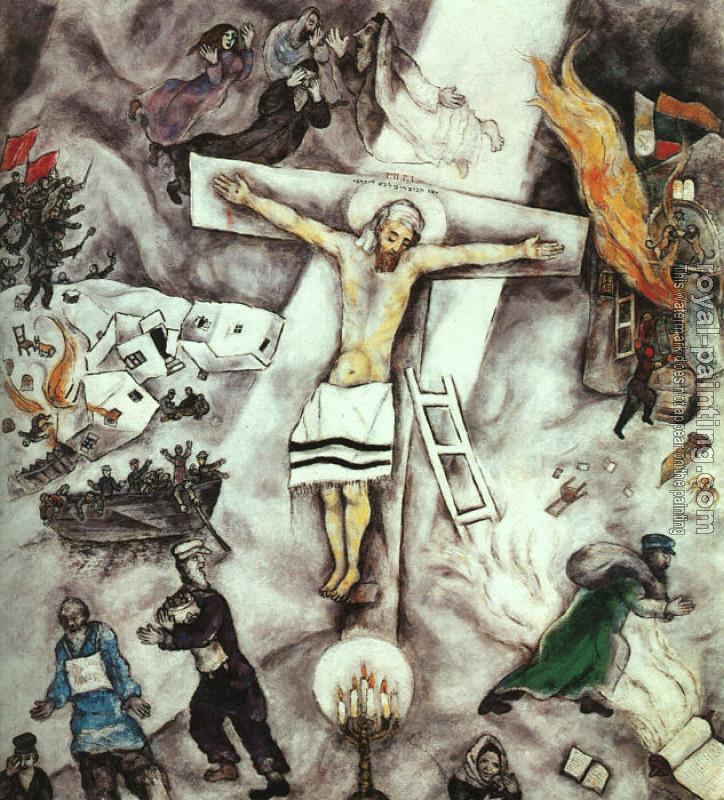 Marc Chagall : White Crucifixion